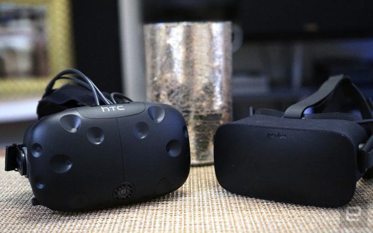 HTCViveOculusRift