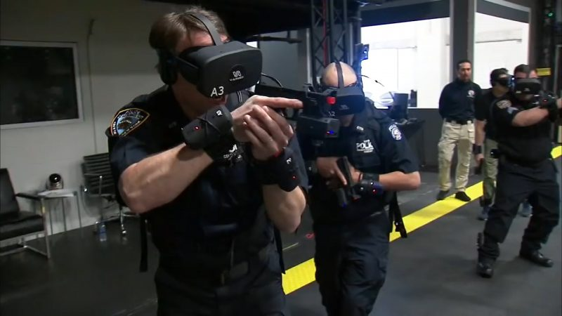 NYPD Using Virtual Reality