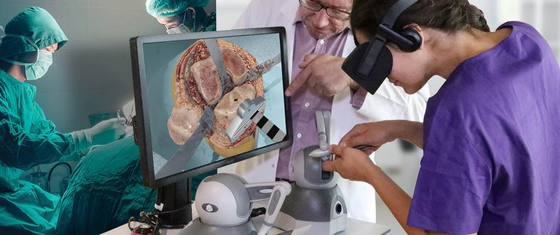 Virtual Reality Surgery Simulation