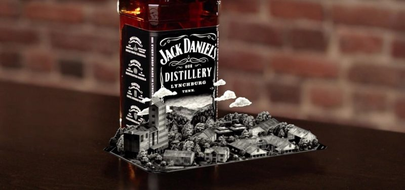 Jack Daniels Augmented Reality App