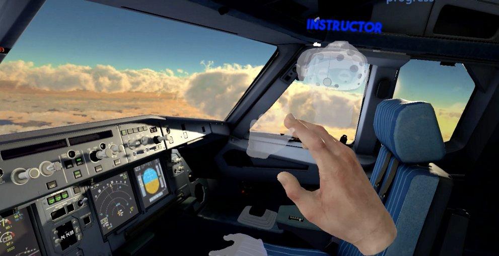 VR-flight-training